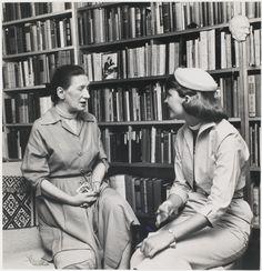 Sylvia Plath and Elizabeth Bowen