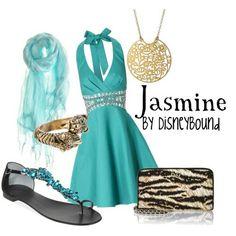 Jasmine fashion from Aladdin