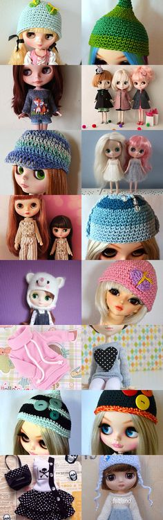 Blythe, Blythe, Pullip....just cute dolls by Lisa Astrup on Etsy--Pinned+with+TreasuryPin.com