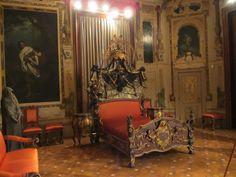 Sisi's bedroom in the Hermesvilla: part 2