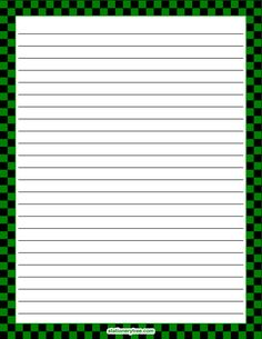 Printable yellow and black checkered stationery and writing paper. Multiple versions available with or without lines. Printable Lined Paper, Free Printable Stationery, Free Printables, Black Envelopes, Paper Envelopes, Stationery Paper, Stationery Design, Journal Paper, Journal Cards