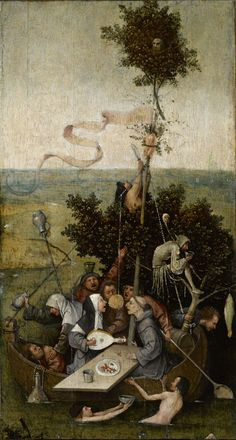 Hieronymus Bosch the Ship of Fools