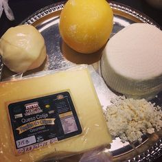 Mex cheese we tasted at my seminar #IACP14: Bola d Ocosingo,homade panela/queso fresco/quesillo,Cotija