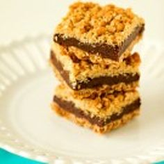 Oatmeal Fudge Bars Recipe - Indulge in these bars that can be enjoyed as a dessert or breakfast on Christmas morning!