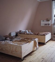 Room makeover and a box bed