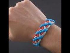 How to make a paracord bracelet: Celtic bar technique