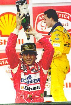 Ayrton Senna, and Michael Schumacher