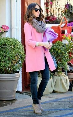 Such a cute pink coat - Katie O. | Ador