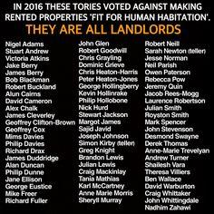 Tory SCUM! Selfish, greedy bastids.