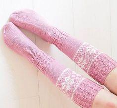 Lisää näitä kiitos - kaikissa ihanissa väreissä #knitting #knittigismypassion #woolsocks #neulominen #rakkaudestalajiin #pohjantähti #omamalli #villasukat #käsityölanka #lankamaailma #handmadewithlove Boot Cuffs, Boot Socks, Mitten Gloves, Mittens, Instagram Widget, Slipper Boots, Knitting Socks, Leg Warmers, Lounge Wear