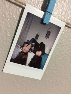 Tumblr, best friend, photowall, paper clip, Polaroid, photography, face cover picture