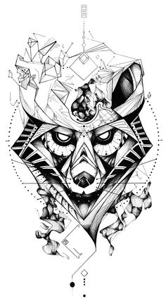 Geometric wolf 29/12/15