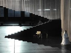Europeras 1 & 2 (John Cage), set design and light by Klaus Grünberg, Ruhrtriennale 2012