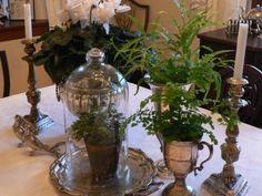 Vintage Silber Dekoration zu Hause - Verleihen Sie der Wohnung einen Charme aus der alten Welt - #Dekoration