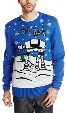 Star Wars Men's Snow Flight Sweater, Royal, X-Large Best Price