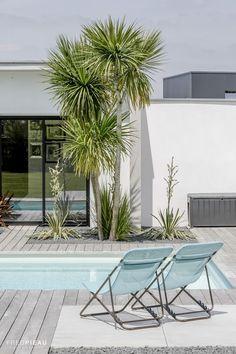 #piscine #Caron #detente #ambiance #vegetal #fauteuil #deco