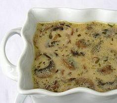 Cream of Mushroom Soup. Cream of Mushroom Soup Recipe With Cream Of Mushroom Soup, Mushroom Soup Recipes, Side Recipes, New Recipes, Favorite Recipes, Yummy Recipes, Creamed Mushrooms, Stuffed Mushrooms, Albanian Cuisine