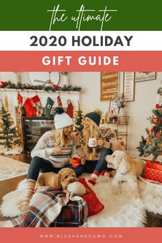It's here! What you've been waiting for! My ultimate holiday gift guide for 2020! Inside you'll find home decor and Christmas trees! And gifts for mom! And even more! You might even find something you want for Christmas! Enjoy! #holidaydecor #christmastrees #christmasgiftsformom