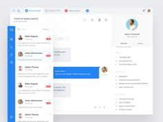 Customer messaging app designed by Paresh Khatri. Connect with them on Dribbble; the global community for designers and creative professionals. Homepage Design, App Icon Design, Web Design Trends, Design Layouts, Site Design, Web Dashboard, Ui Web, Dashboard Design, Ui Design Inspiration