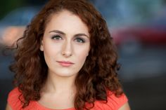 Another actress headshot example from CityHeadshots.