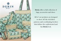 Light weight fabric handbags and belts