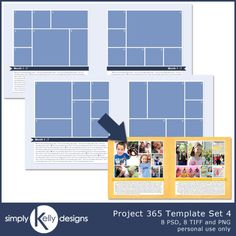 It's the middle of February and I have finally figured out how I want to do my Project 365 layouts for 2014. Last year, I was enamored by Instagram and used one