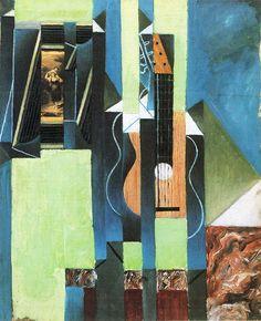 Juan Gris. Guitarra,