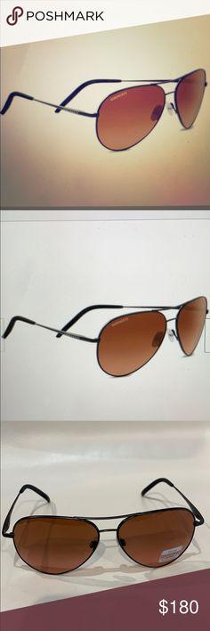 Serengeti Matera Sunglasses Brushed Brown Unisex-Adult Medium