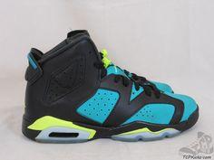 Vtg OG 2014 Nike Air Jordan VI 6 s sz 6.5y VII Turbo Green Retro Black Carmine  #Jordan #Athletic #tcpkickz