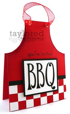 A creative BacoBBQ invite... Your BBQ isn't a proper English BBQ without BACO! www.baco.co.uk