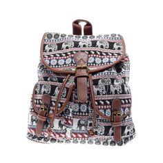 Mintás Női Vászon Hátizsák - Vászon - Táska webáruház - Női táskák dd6fc44401