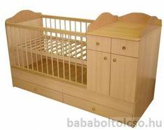 Bogi kombi babaágy 60x120 cm  ** 1 fiókos, 2 ajtós ** Több szín Dyi Crafts, Pregnancy Tips, Baby Room, Cribs, Toddler Bed, Journey, Mom, Furniture, Home Decor
