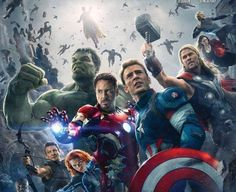 Why the 'Avengers: Age of Ultron' Poster Looks So Familiar
