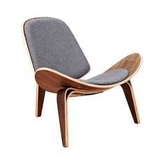 Hello, gorgeous! With its stunningly curved, mid-century–inspired silhouette, this Wings Chair will prove a statement piece in any contemporary or transitional living space. This charming chair comes e...  Find the Wings Chair in Walnut and Fabric, as seen in the Our Best Seating Sale Collection at http://dotandbo.com/collections/our-best-seating-sale?utm_source=pinterest&utm_medium=organic&db_sku=116442