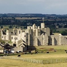Middleham castle, England. Home to King Richard III