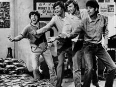 The Monkees  Davy Jones, Micky Dolenz, Peter Tork and Michael Nesmith.