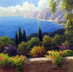 """Gerhard Nesvadba """"Wildflowers in the Breeze"""" Artist"""