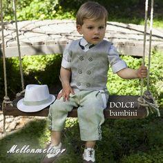 """Βαπτιστικό Dolce Bambini """"Enio"""" Boys, Baby Boys, Senior Boys, Sons, Guys, Baby Boy"""