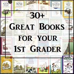 30 Great Books for Your 1st Grader @Amy Lyons Lyons Lyons Maze