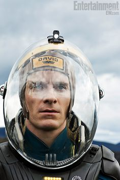 "Fassbender in ""Prometheus""! i want to see this movie"