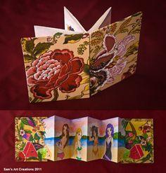 Tropical Kawai artistic book  This book conmemorates good friends.