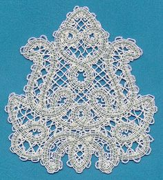 Floral Feature (Battenburg Lace) design (G3456) from www.Emblibrary.com