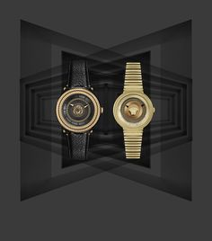 The V-Metal Icon watch is the symbol of the bold #Versace creativity. Discover more on versace.com #VersaceWatches