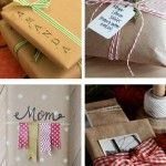 Try these Easy Kraft Paper Wrapping Ideas for your Christmas presents this year. Change the color scheme and these ideas will work for other holidays!