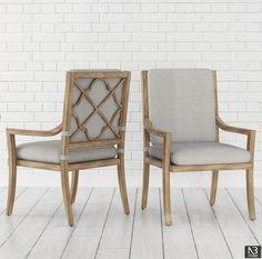 Misty Garden Dining Arm Chair