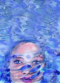 Self Love, Akal Pritam, Rockpool Publishing. Art Of Love, Third Eye Chakra, Rock Pools, Oceans, Self Love, Spirituality, Painting, Natural Pools, Self Esteem