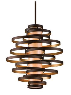 Vertigo 4-Light Pendant with Choice of Finish | House of Antique Hardware