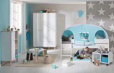 Rausfallschutz Kinderbett Absturzschutz weiß Kinderzimmer Dinky Castle