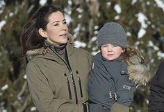 Verbier, Switzerland: HRH Princess Isabella (01 Feb 2010) [PHOTO: Hanne Juul/Billed-Bladet]
