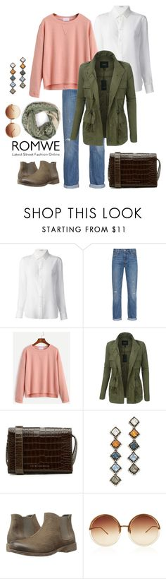 """Senza titolo #1254"" by granatina ❤ liked on Polyvore featuring Yves Saint Laurent, Levi's, LE3NO, Victoria Beckham, DANNIJO, Josef Seibel, Linda Farrow and Bohemia"